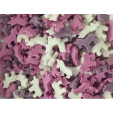 Pink, Purple & White Little Unicorns 25g
