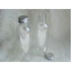 100ml Boston Bottles Clear PET (no closure)  x 1