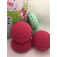 Salt & Bath Bomb Colour Powder Christmas Red 25g