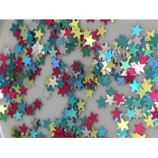 Cosmetic Grade Multi Coloured Stars